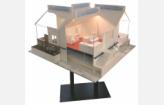Maquette de maison inondable