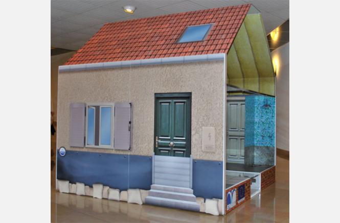 Maquette « La Maison Inondable »