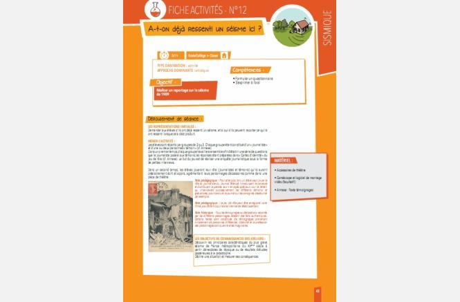 Guide pédagogique d'éducation aux risques naturels majeurs sur le territoire du Ventoux