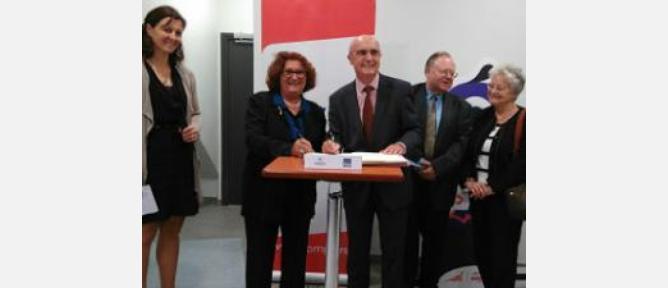 Signature d'une convention entre la FNSPF et l'IFFO-RME