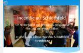 Incendie au Schluthfeld !