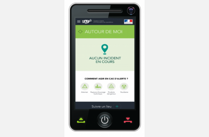 Application mobile du SAIP