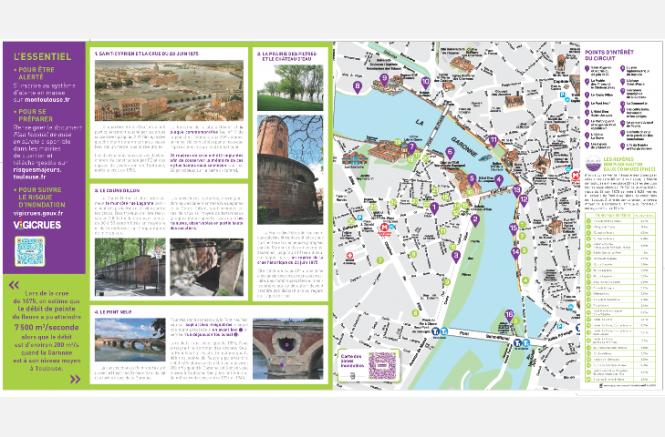 Campagne d'information préventive sur le risque inondation (2019-2020) : « La Garonne : fleuve puissant »
