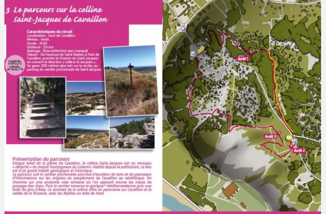 Topoguide et son application « Luberon Topo Feu »