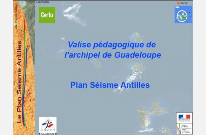 Elaboration d'une valise pédagogique « Séisme »  pour les collectivités antillaises