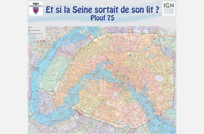 Plouf 75 : Et si la Seine sortait de son lit ?