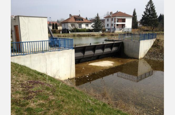 RANDONNEE : les ouvrages de régulation et les aménagements liés à l'eau de Montbéliard à Voujeaucourt