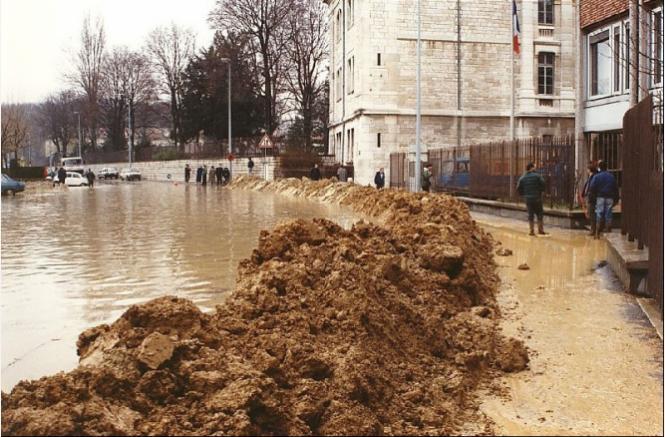 Site Internet de l'observatoire des inondations du Doubs