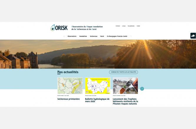 ORISK Observatoire du risque inondation, de la sécheresse et du karst