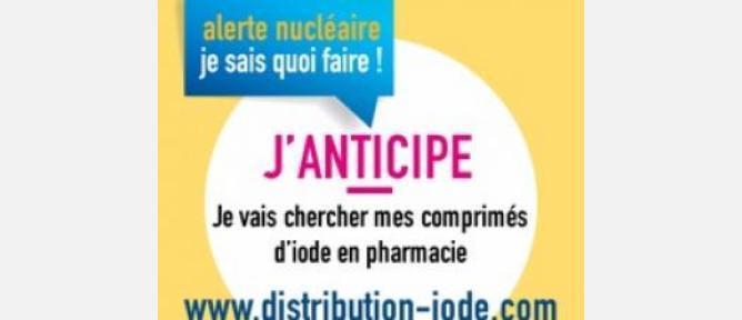 Campagne 2016 de distribution d'iode