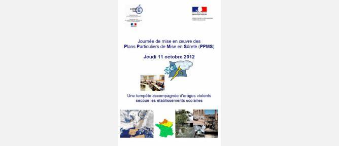 La journée Plan Particulier de Mise en Sûreté dans l'académie de Rouen