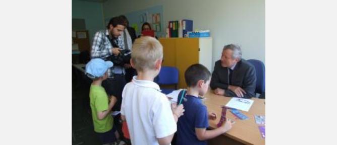 Visite du Préfet des Yvelines sur l'opération Risk'investigation